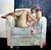 CAROLINE WESTEROUT, un peu de Klimt, beaucoup d'elle, poetique et intrigante