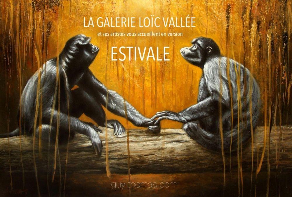 LES ESTIVALES Galerie Loic Vallée, Pleumeur 2014.07