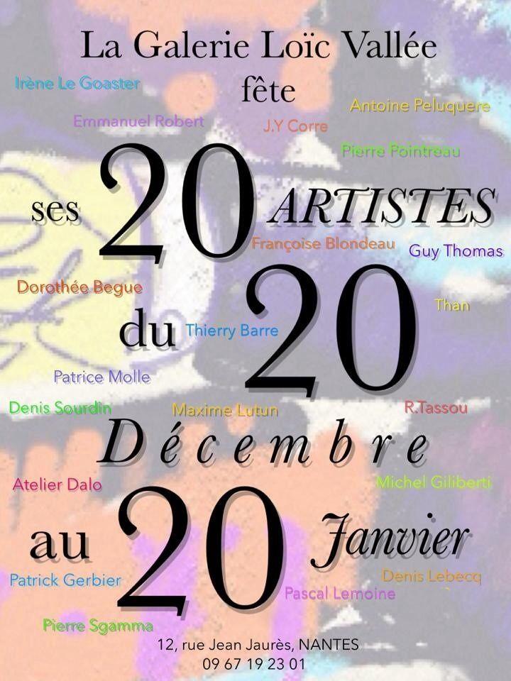 20/20/20 Galerie Loic Vallée Nantes 2014.12