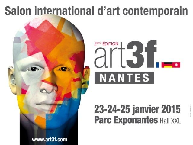 ART3F Nantes, Galerie Loic Vallée Nantes 2015.01