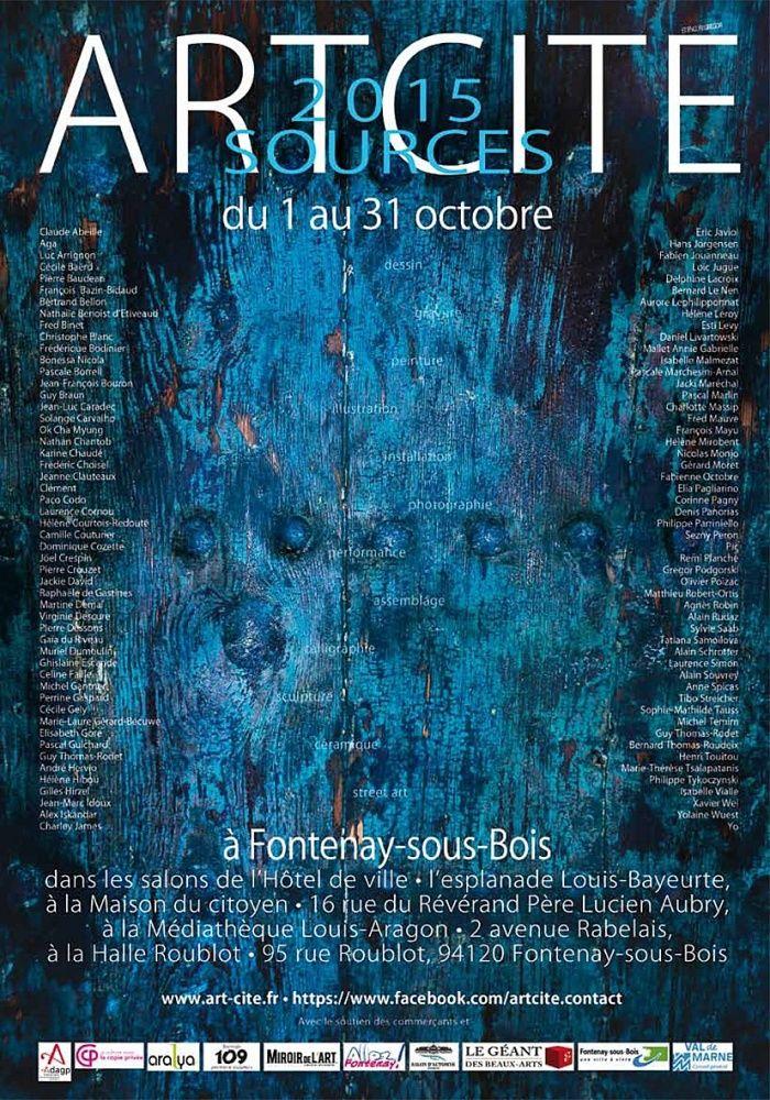 ARTCITÉ 2015 Fontenay-sous-Bois 2015.10