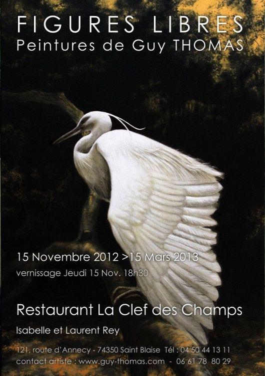 aigrette.jpg FIGURE LIBRE au Restaurant La Clef des Champs à St Blaise, Haute Savoie