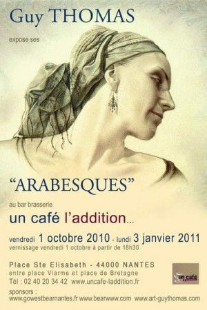 arabesques.jpg ARABESQUES - Expo solo à L'Addition, NANTES