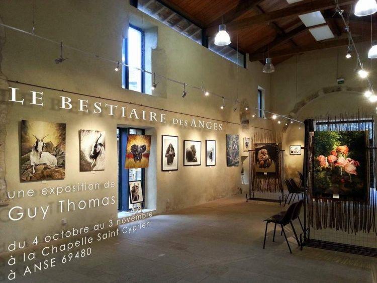 Art animalier,  Le Bestiaire des Anges,  Guy Thomas,  portraitiste animalier