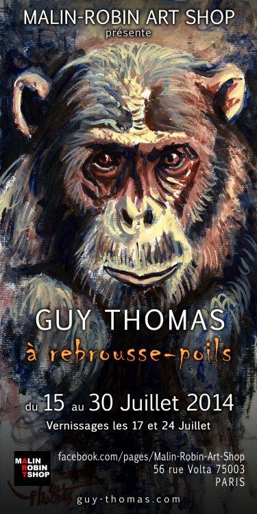Exposition,  Guy Thomas,  Art animalier,  portraitiste